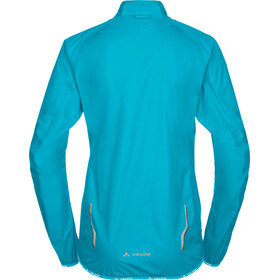 VAUDE Drop III Jacket Women cyan